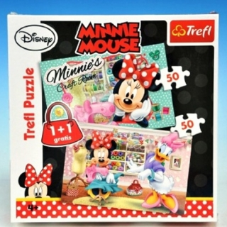 Puzzle Minnie Mouse 2 v 1