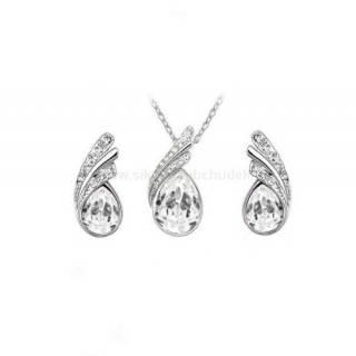 Swarovski Elements Souprava Tear Drop SWS096